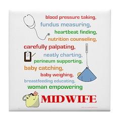 Midwife/ Job Description Tile Coaster
