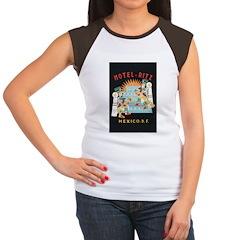 Hotel Ritz Mexico City Women's Cap Sleeve T-Shirt