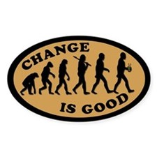 CHANGE IS GOOD Coffee Shop Tipjar Decal
