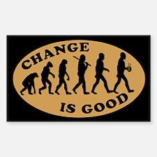 CHANGE IS GOOD BARISTA Tip Jar Decal