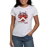 Denham Family Crest Women's T-Shirt