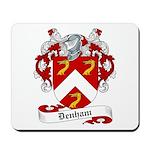 Denham Family Crest Mousepad