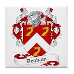 Denham Family Crest Tile Coaster