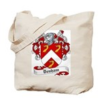 Denham Family Crest Tote Bag