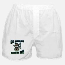 Go Ahead, Make My Day! Boxer Shorts