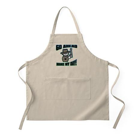 Go Ahead, Make My Day! BBQ Apron