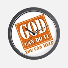 God Improvement Wall Clock