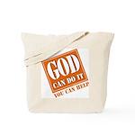 God Improvement Tote Bag