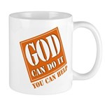 God Improvement Mug