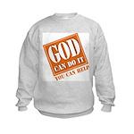 God Improvement Kids Sweatshirt