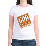 God Improvement Jr. Ringer T-Shirt
