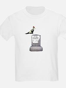 Ivory-billed Woodpecker Kids T-Shirt