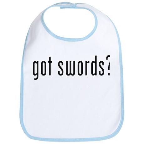got swords? Bib
