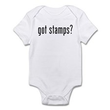 got stamps? Infant Bodysuit