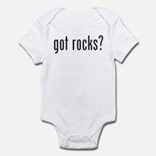 got rocks? Infant Bodysuit