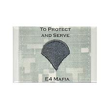 E4 Mafia Rectangle Magnet