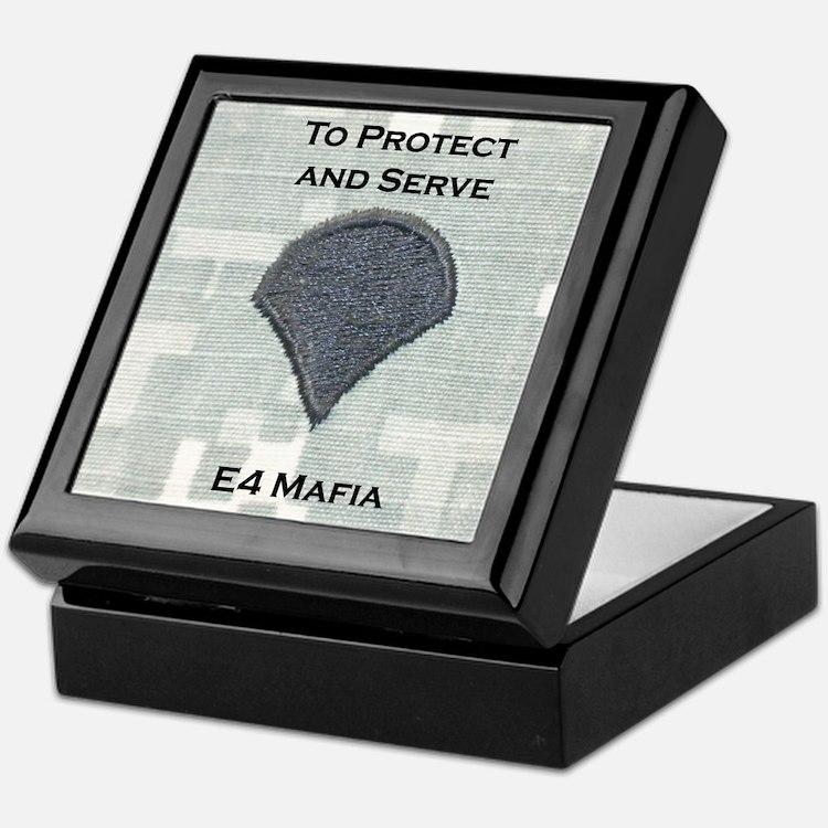 E4 Mafia Keepsake Box