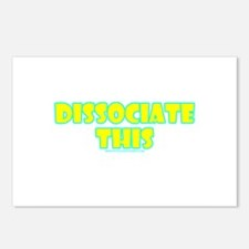 Dissociate This Postcards (Package of 8)
