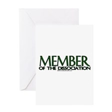 Member Of The Dissociation Greeting Card