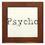 Psycho Framed Tile