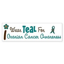 I Wear Teal For Awareness 12 Bumper Bumper Sticker