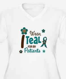 I Wear Teal For My Patients 12 T-Shirt