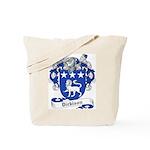 Dickison Family Crest Tote Bag