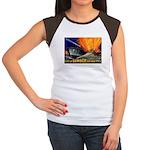 Give Us Lumber Women's Cap Sleeve T-Shirt