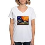 Give Us Lumber Women's V-Neck T-Shirt