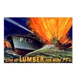 Give Us Lumber Postcards (Package of 8)