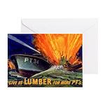 Give Us Lumber Greeting Card