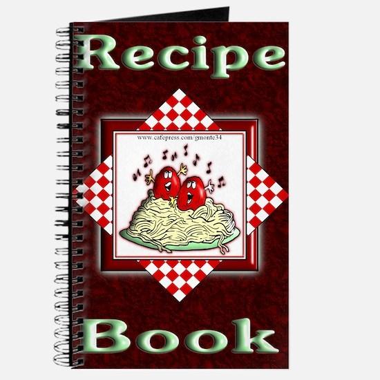 Singing Meatballs Blank Recipe Book