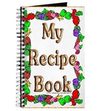 Veggie Border Blank Recipe Book