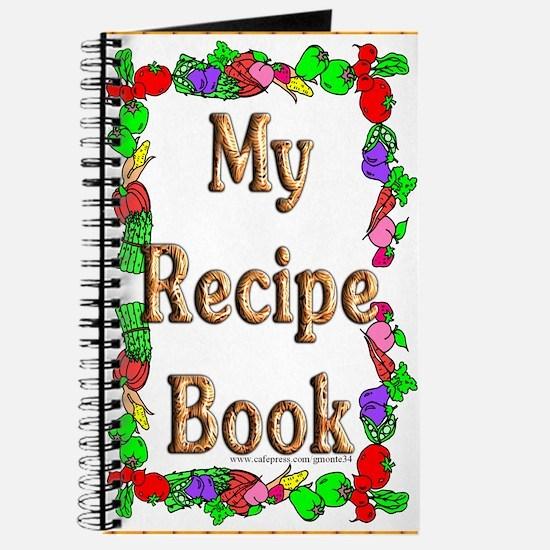 Veggie Border Blank Recipe Book