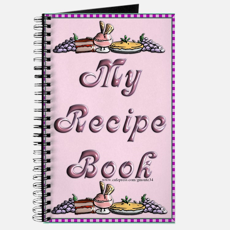Dessert & Friut Blank Recipe Book