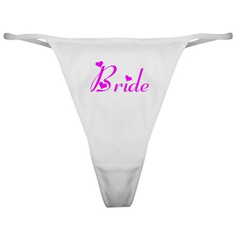 FRBP Bride's Classic Thong