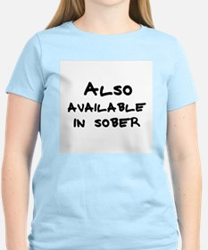Also available in sober Women's Pink T-Shirt