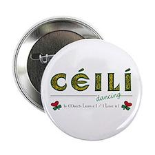 Irish Dance Button