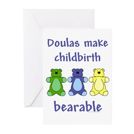 Doulas/ Bearable Greeting Cards (Pk of 10)
