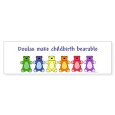 Doulas/ Bearable Bumper Bumper Sticker