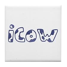 Denim icow Tile Coaster