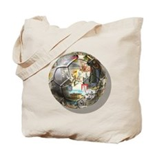 Culture of Germany Soccer Bal Tote Bag
