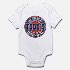Todd's All American BBQ Infant Bodysuit