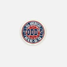 Todd's All American BBQ Mini Button (100 pack)