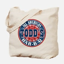 Todd's All American BBQ Tote Bag