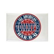 Tommy's All American BBQ Rectangle Magnet