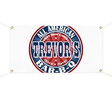 Trevor's All American BBQ Banner
