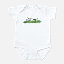 Live Simply (Flowers) Infant Bodysuit