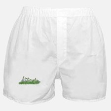 Live Simply (Flowers) Boxer Shorts