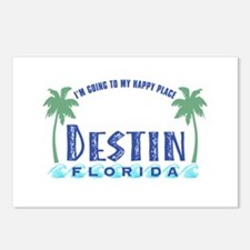 Destin Happy Place - Postcards (Package of 8)